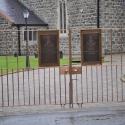 Bronze gates