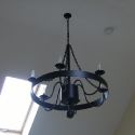 Wrought Iron Light