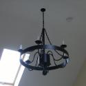 Wrought Iron Light