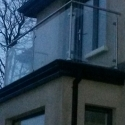Stainless Steel and Glass Rail