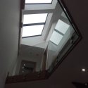 Frameless Glass Interior Balcony