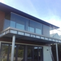 Exterior Balcony with Frameless Glass