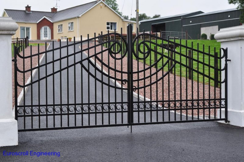 Wrought Iron Gates Specialist In Northern Ireland Euroscroll