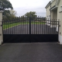 Panelled Gates
