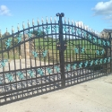 Ornamental Entrance Gates - Omagh