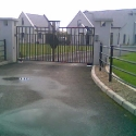 Comtemporary Style Iron Gates