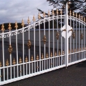 Powder coated Steel Gates