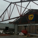 Structural Steelwork For Lidl Store