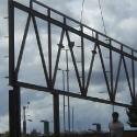 Steel Truss - Lidl Port TAlbot