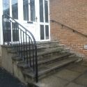 Handrail to Front Steps