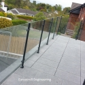 Glass Balustrade with PPC Posts