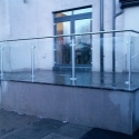 Stainless Steel and Glass