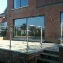 glass & stainless steel