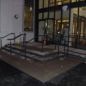 Handrails to steps
