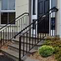 Entrance Step Railings