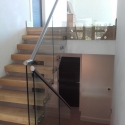 Cantilevered Floating Staircase