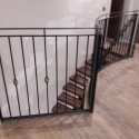Curved Spinebeam Staircase