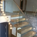 Floating Cantilevered Staircase