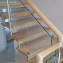 Frame-less Oak Staircase