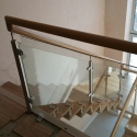 Frameless Stairs with Glass Balustrade