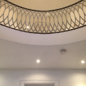 Curved Stair Balustrade