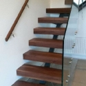 Walnut Stairs