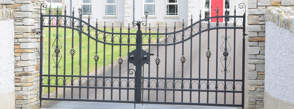 Arched Estate Gates