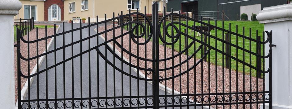 Scrolled Gates